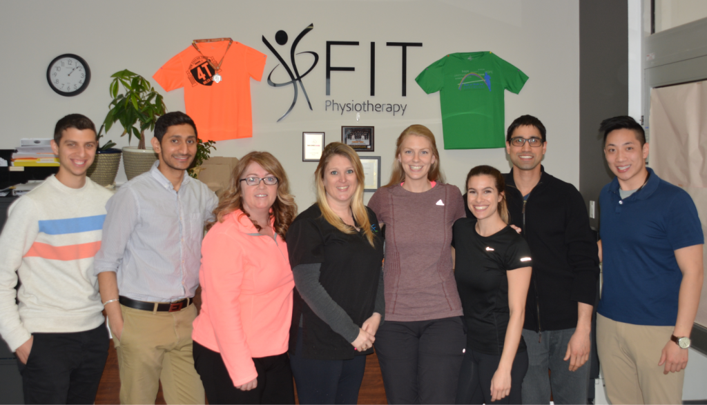 Team at Spectrum Physiotherapy Newmarket