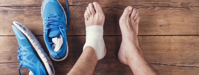 Ankle injury surgery physiotherapy